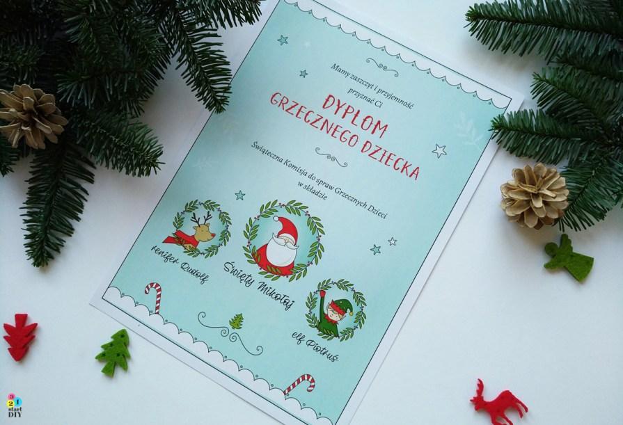 list od świętego Mikołaja do druku