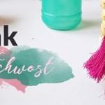 Jak zrobić chwost – dekoracyjny frędzelek-pędzelek