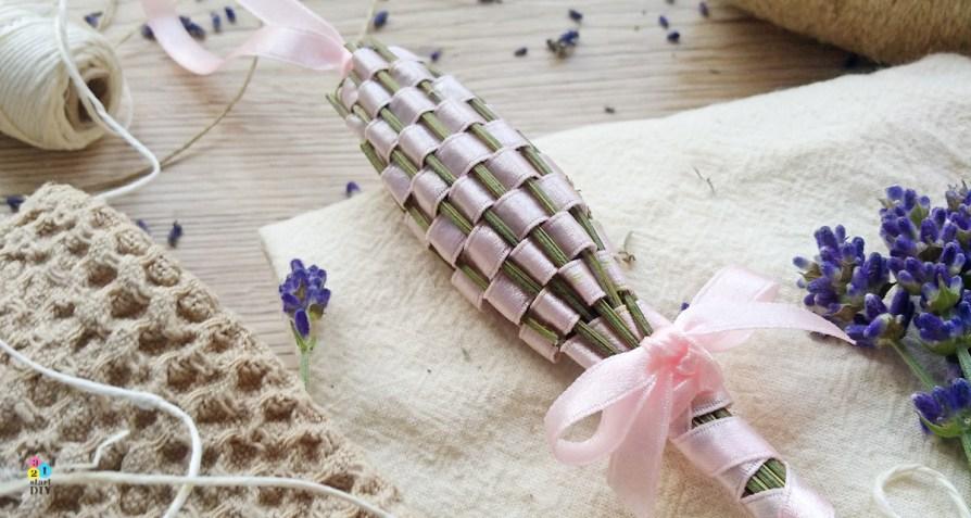 Fusetka – ręcznie robiony lawendowy zapach do szafy