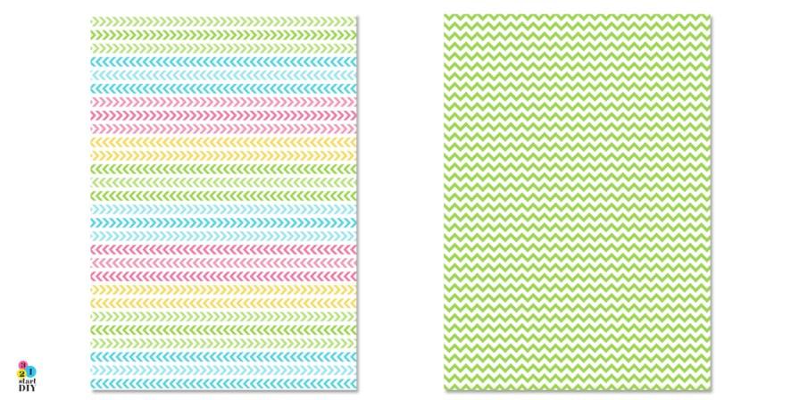 Letnie papiery do druku - papier ozdobny