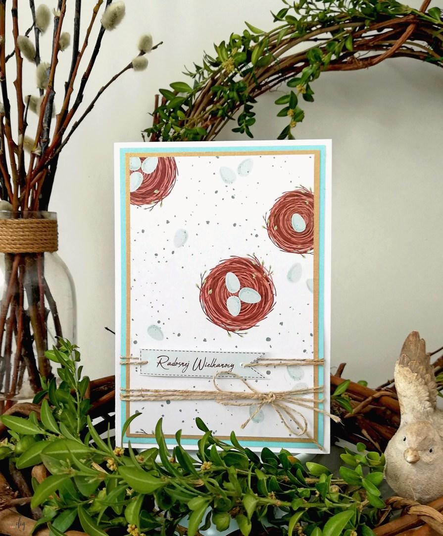 Ręcznie robione kartki wielkanocne - inspiracje