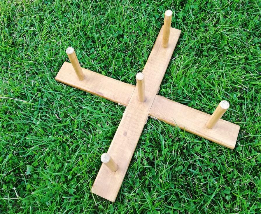 Gra zręcznościowa w rzuty do celu - nasza ogrodowa zabawka DIY