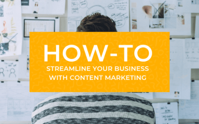 Streamline your Business with Content Marketing