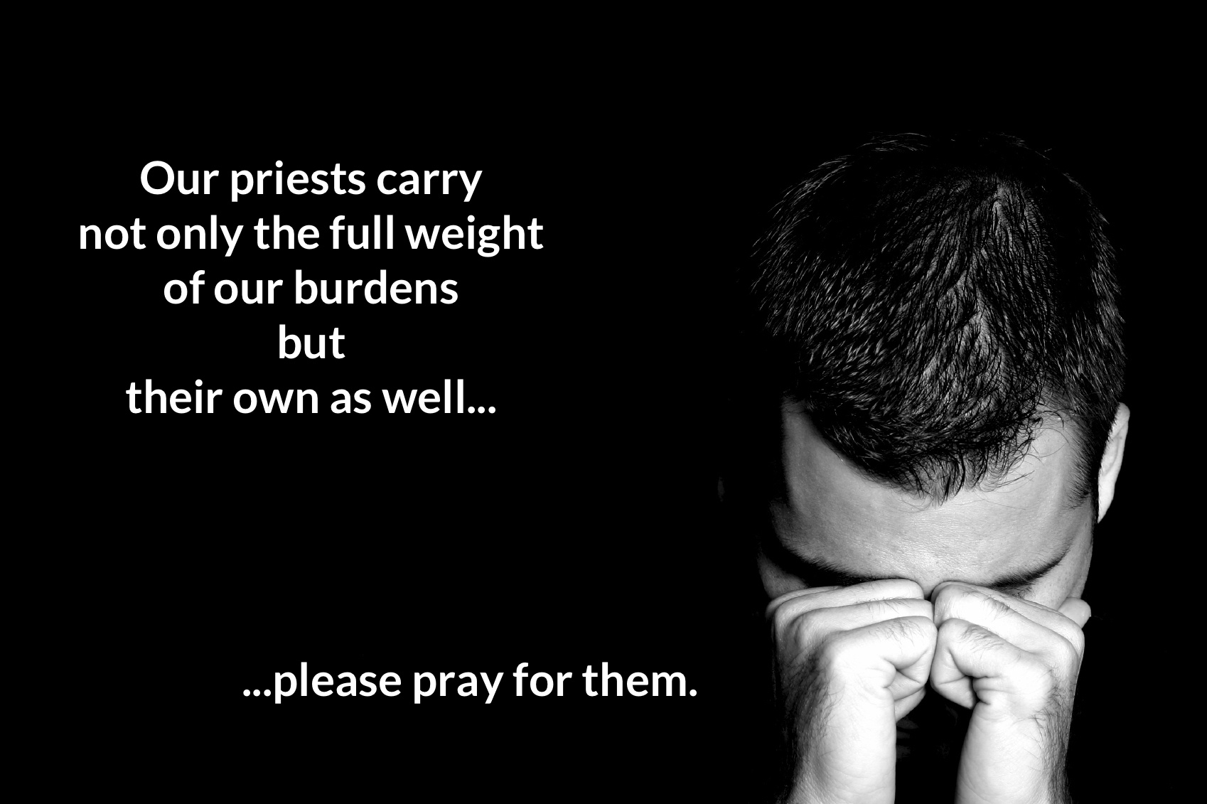 Image result for Pray for a priest