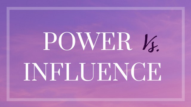 Power versus Influence - Which tool is better for you