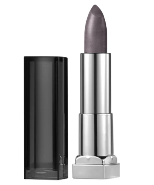 Maybelline Color Sensational Matte Metallics Lip Color Smoked Silver