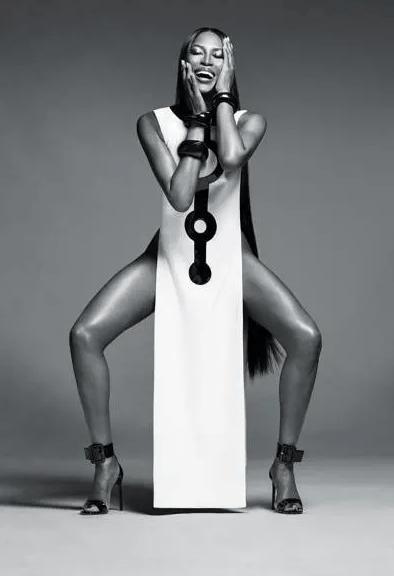 Naomi Campbell for Nars