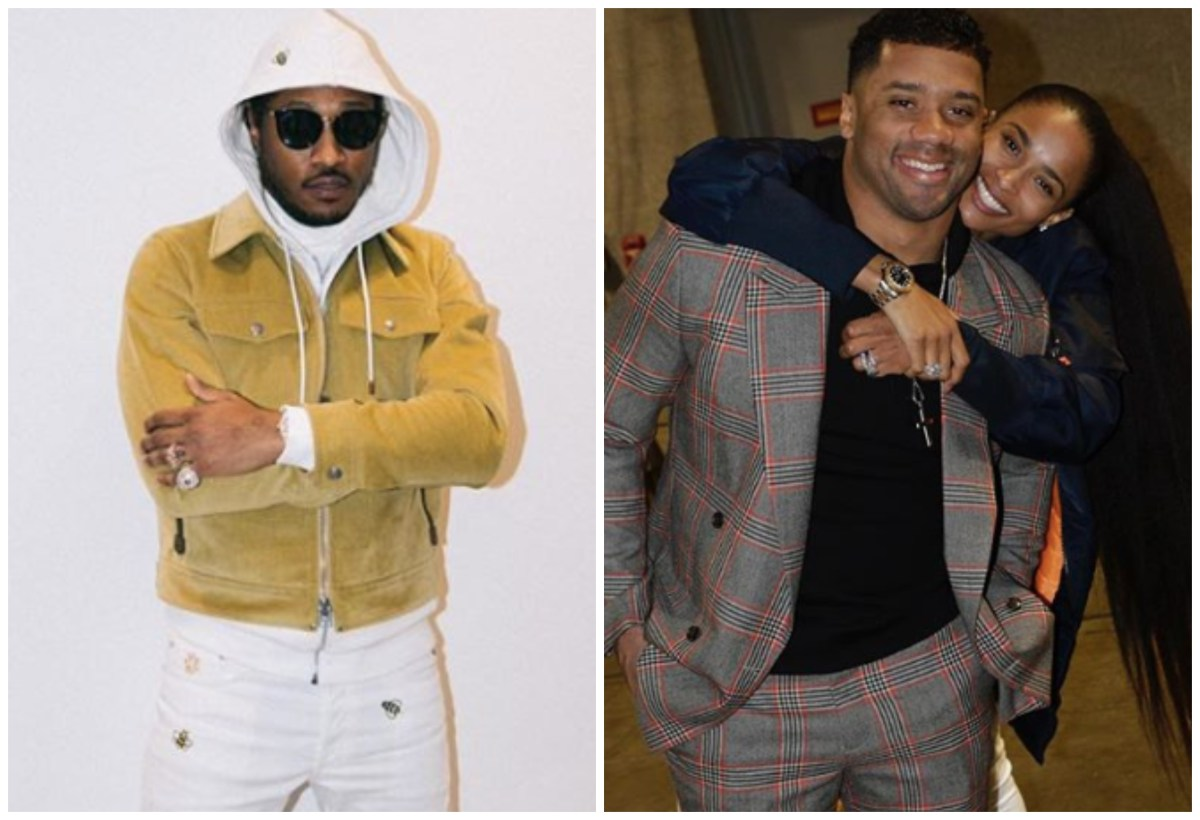 Future Opines On Ciara's Marriage, Concludes Russell Wilson Isn't A Man