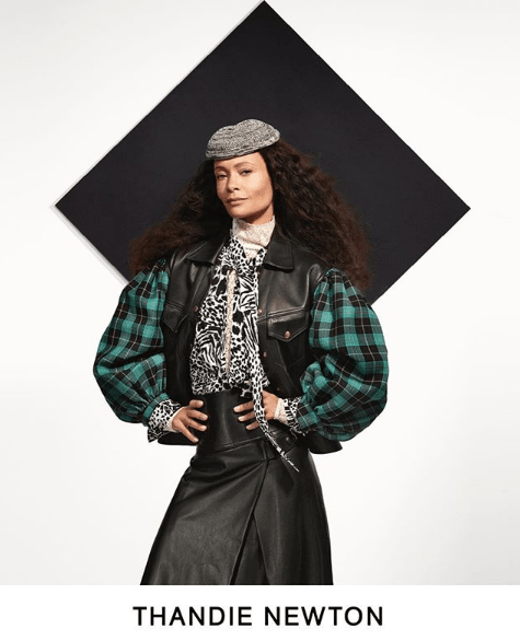 Actress Thandie Newton stars in Louis Vuitton Pre-Fall 2019 lookbook.