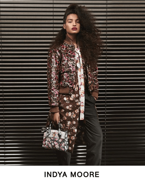 'Pose' Actress Indya Moore stars in Louis Vuitton Pre-Fall 2019 lookbook.