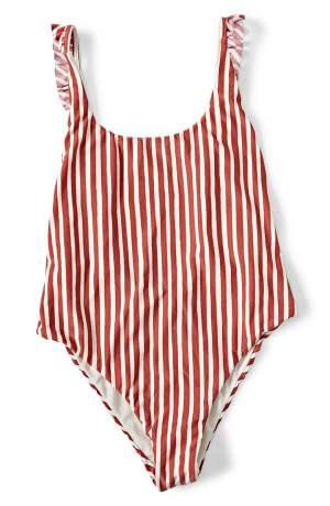 BILLABONG x Sincerely Jules Dos Palmas One-Piece Tummy-Hiding Swimsuit