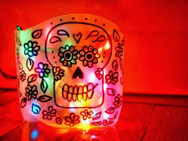 #Life #Quotes #QuotesAboutLife DIY Sugar Skull (Day of the ...