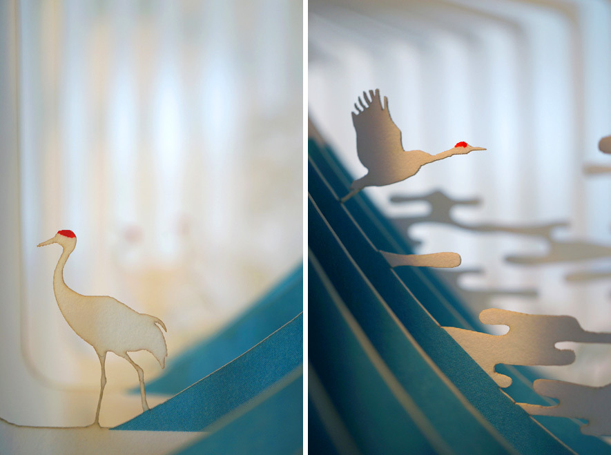 360° Laser-Cut Paper Story Books by Yusuke Oono (5/6)