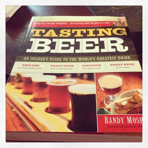 Determined to become a beer genius. #drinkandspoon #drinkcraft #craftbeer #craftbeercommunity #books #read #learn