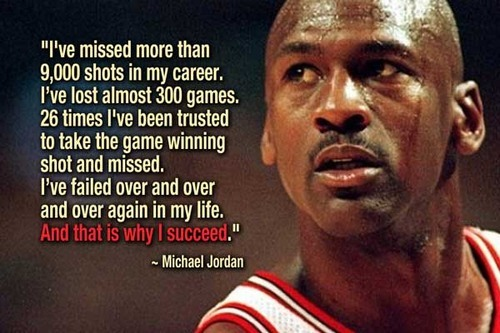 Michael Jordan on failure