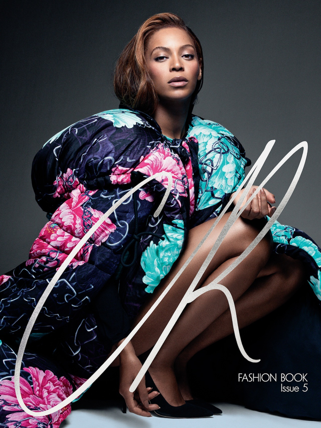 ISSUE 5: QUEEN B Today, our fifth Fashion Book cover is revealed [[MORE]]   Photographs Pierre Debusschere Guest creative direction Riccardo Tisci  The empress of pop meets a force of fashion. In her first collaboration with Carine Roitfeld, the ever-changing Beyoncé expresses her many moods, manners, auras, and multifaceted characters. All hail!