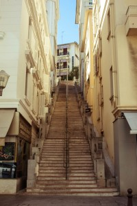 photography vintage street architecture urban Stairs ...