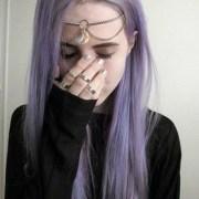 cute hippie grunge punk purple