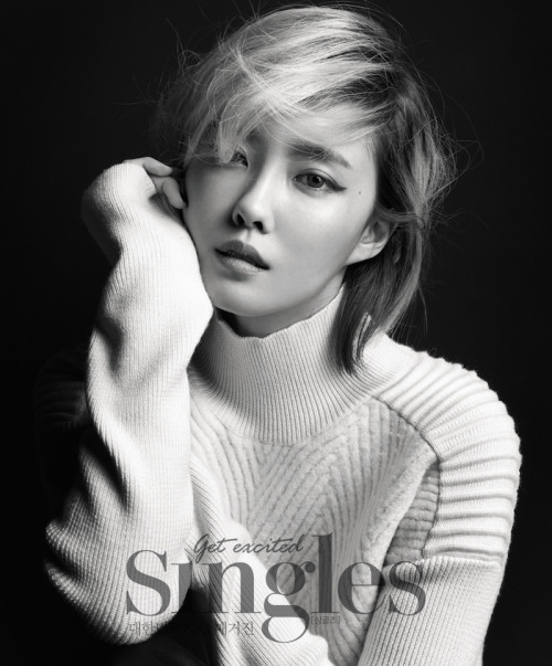 Hyomin for Singles Korea 싱글즈