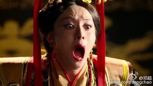Deng Chao poking fun at Sun Li in Legend of Miyue