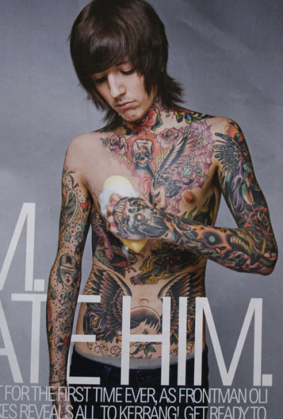 Iphone Wallpaper For Boys Gallery Oli Sykes Palm Tattoo