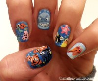 Disney nail art | Tumblr