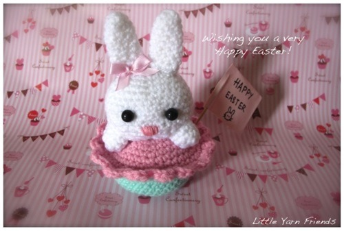Amigurmi Bunny Rabbit--free Crochet Amigurumi Bunny for Easter