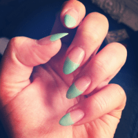 pointed nails on Tumblr