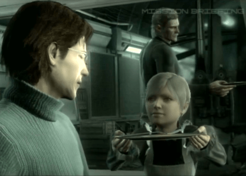 Image result for Otacon and sunny