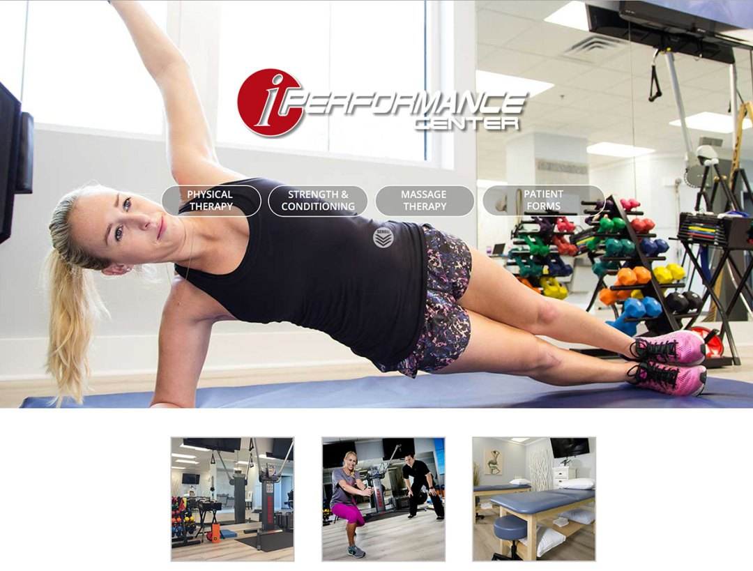 Physical Therapy Web Design Canton Ohio