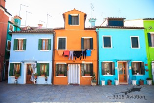 Drying the laundry, Burano style.