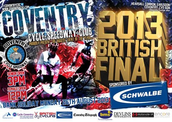 2013 British Final Metro advert