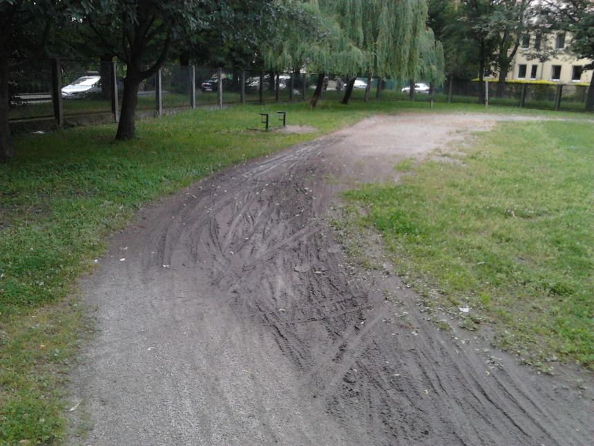 The Wroclaw track in its current condition.