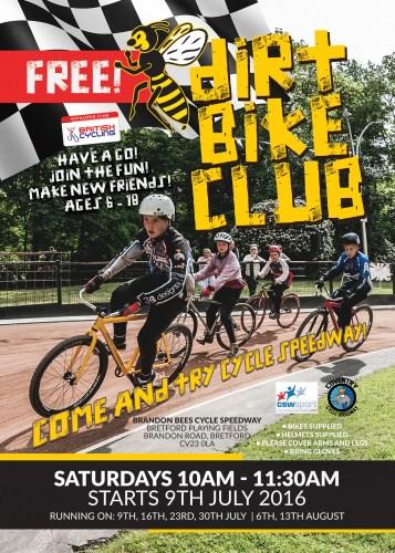 Dirt Bike Club Flyer