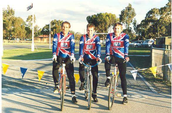(L-R) John Bryant, Pete Young, Roger Farrell