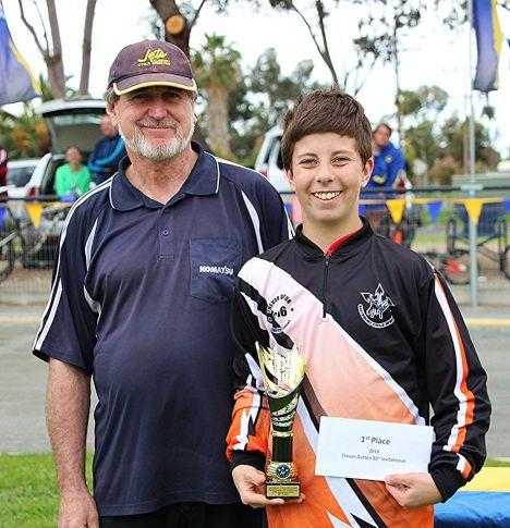 Trevor Dutton winner, Cooper Osborne
