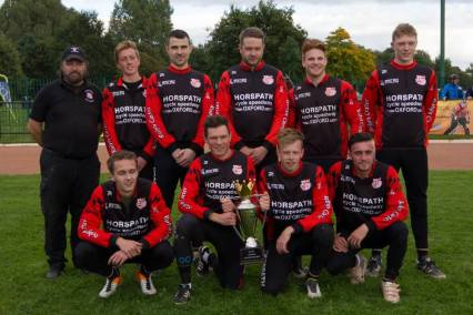 Horspath's Elite League series winning side. Photo by Paul Devine.