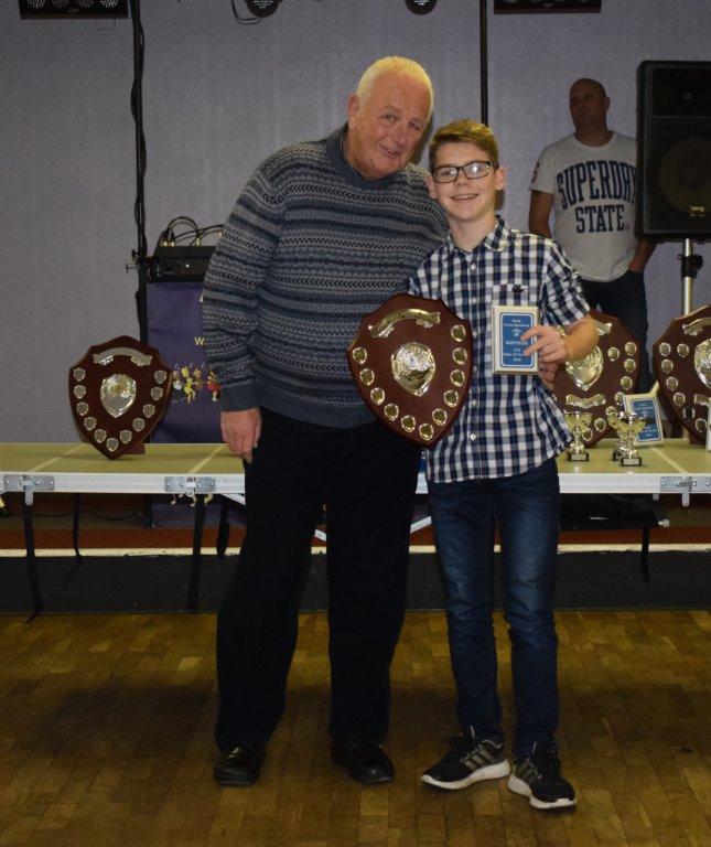 U14 Rider of the Year Danny Byrne