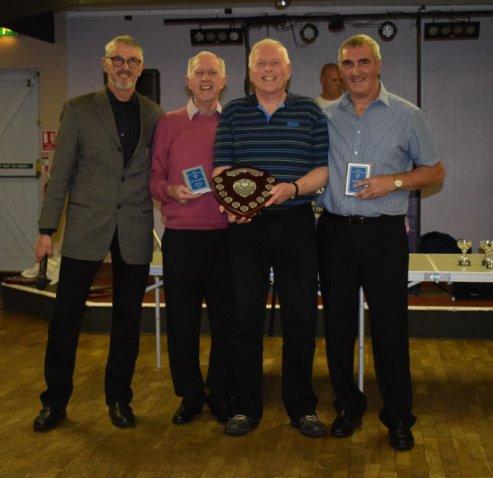 Clubmen of the Year Reg Hatchard and Alan Harris