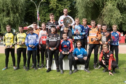 2017 British Junior Podium. Photo by Andy Whitehouse.