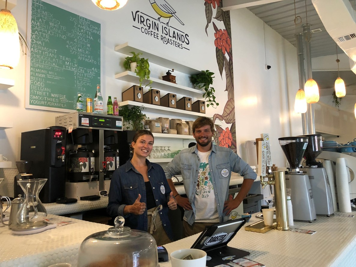 virgin islands coffee roasters st. thomas