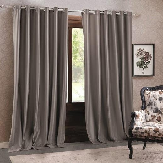 Compre cortina de semi blackout de veludo Adomes Luxor