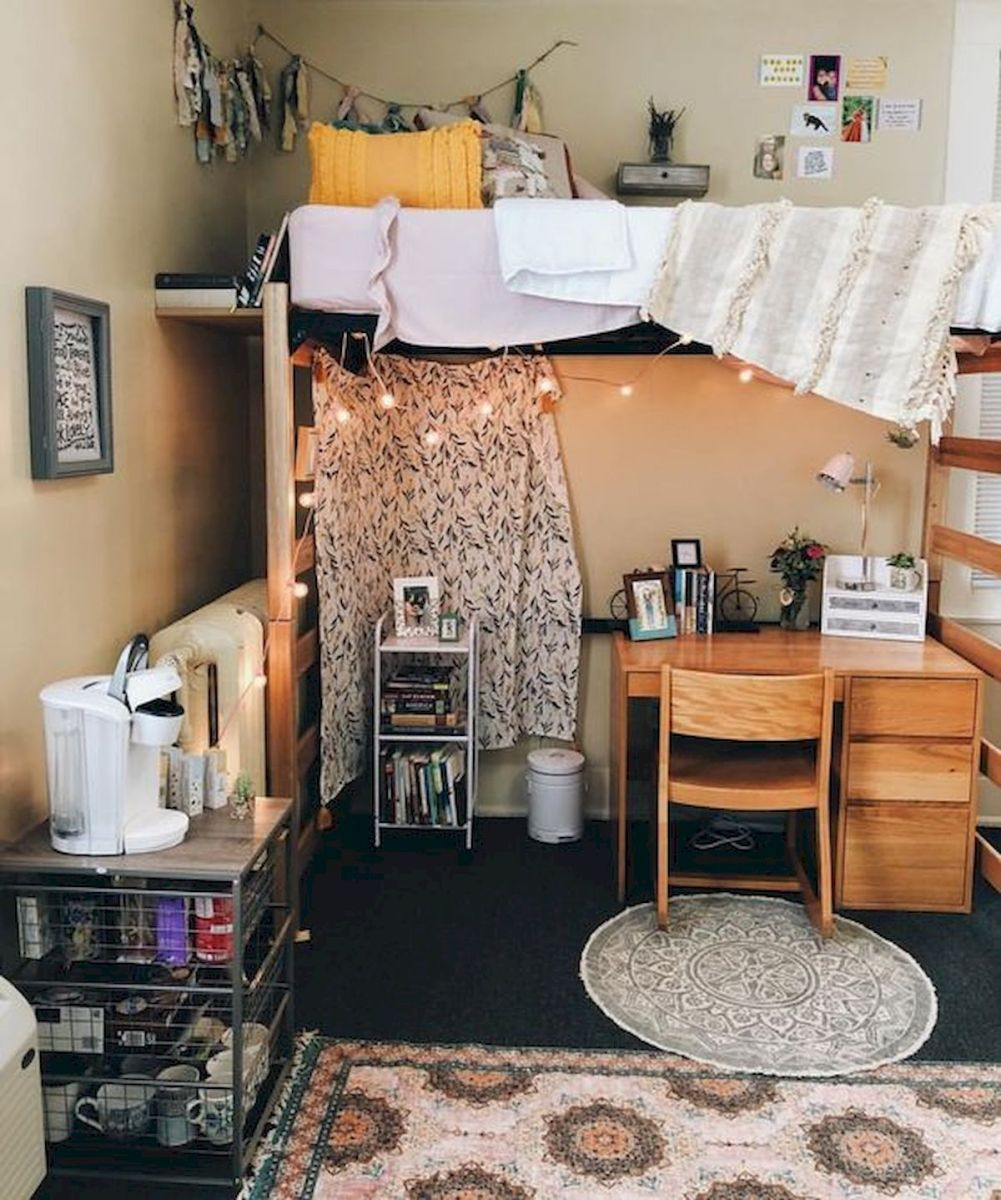 33 Awesome College Bedroom Decor Ideas And Remodel (31)