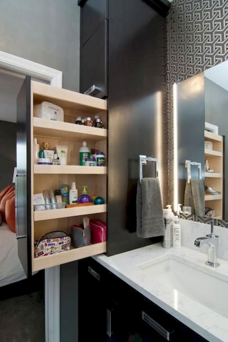 33 Fantastic Bathroom Storage Decor Ideas And Remodel (4)