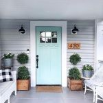 33 Magical Front Door Colors Design Ideas (16)