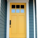 33 Magical Front Door Colors Design Ideas (21)