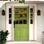 33 Magical Front Door Colors Design Ideas (24)