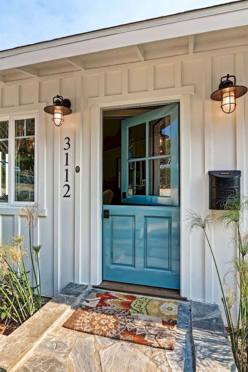 33 Magical Front Door Colors Design Ideas (6)
