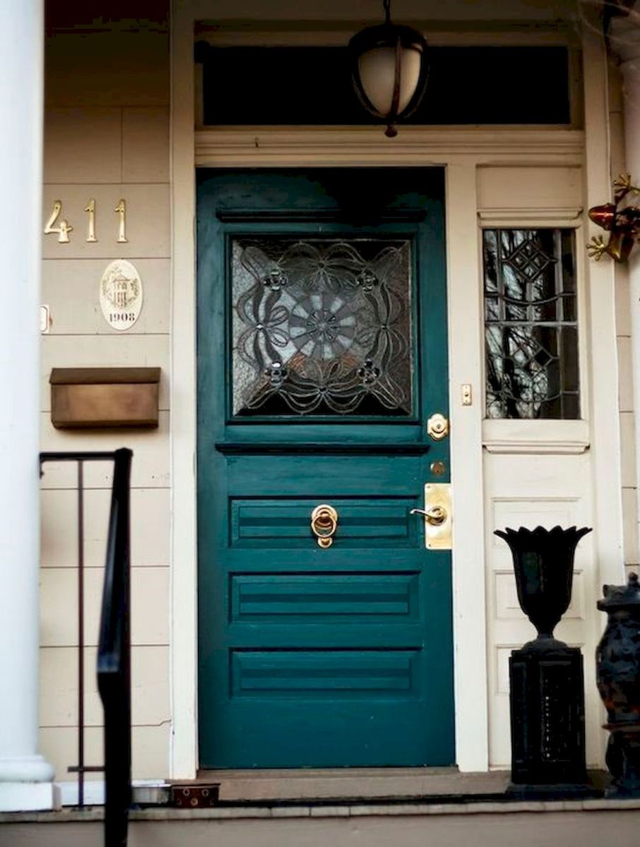 33 Magical Front Door Colors Design Ideas (9)