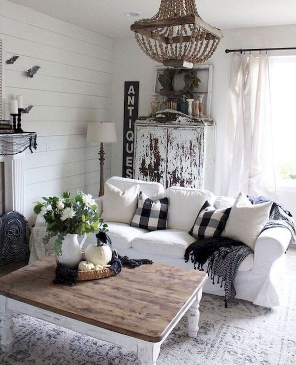 33 Stunning Farmhouse Living Room Lamps Design Ideas And Decor (31)